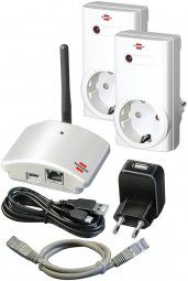 Brennenstuhl Home Automation Gateway Brematic GWY433 Starter Kit