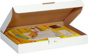 Trans-Pak Maxi Briefbox 1wel, bra, VE50, 250x180x43mm, C5