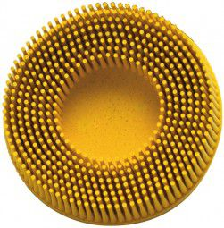 3M Bristle Disc ROLOC 50,8mm K 80 gelb