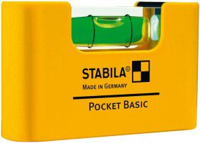 Stabila Mini-Wasserwaage Pocket Basic 7cm