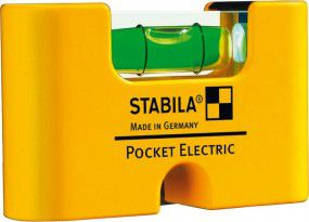 Stabila Mini-Wasserwaage Pocket Electric 7cm
