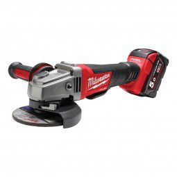Milwaukee FUEL Akku Winkelschleifer M18 CAG-125 XPD/5.0 Ah