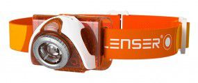 LED Lenser SEO 3 Stirnlampe orange Headlight für Sport und Outdoor