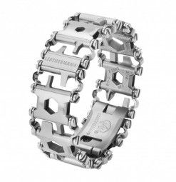 Leatherman Tread Armband silber