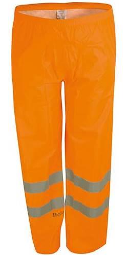 Warnbundhose Nizza orange-grau Gr 54 Funsport