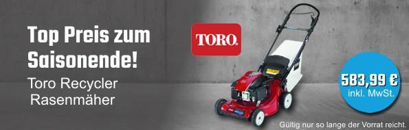 Toro Recycler Rasenmäher 20952