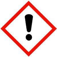 Gefahrensymbol GHS07 Ausrufezeichensymbol
