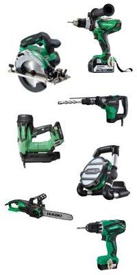 Hikoki Power Tools Sortiments