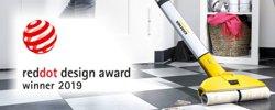 Red Dot Product Design Award 2019 für Hartbodenreiniger FC 3 Cordless