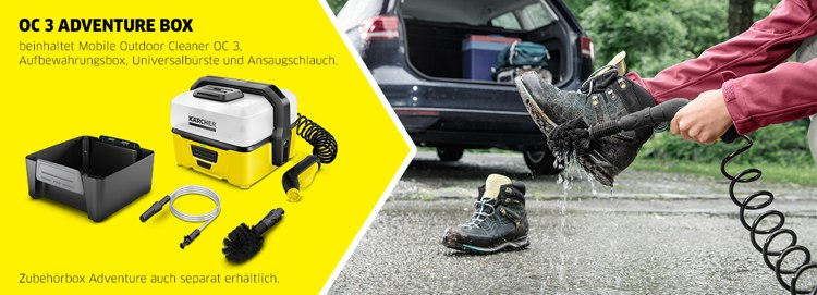 Kärcher Mobile Outdoor Cleaner Adventure Box