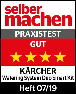 Kärcher Watering System Duo Smart Kit Auszeichnung