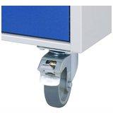 Schubladenschränke Zubehör: Rollen / Fahrplatten