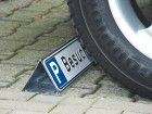 Parkbegr. f. Parkplatzs. Stahl verzinkt