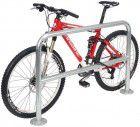 WSM Fahrrad-Anlehnbügel 9200,L1000mm,Edelst,z.Ein