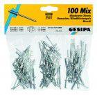 GESIPA Blindniet-Sortiment (100-teilig)