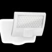 Steinel Sensor Außenstrahler XLED curved weiß