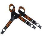Stihl Hosenträger zum Knöpfen schwarz orange