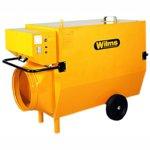 Wilms Heißluftturbinen mit Abgasfürhung