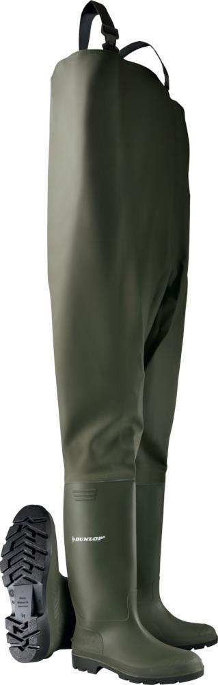 45 Airsoft DUNLOP Wathose Pricemastor grün Gr